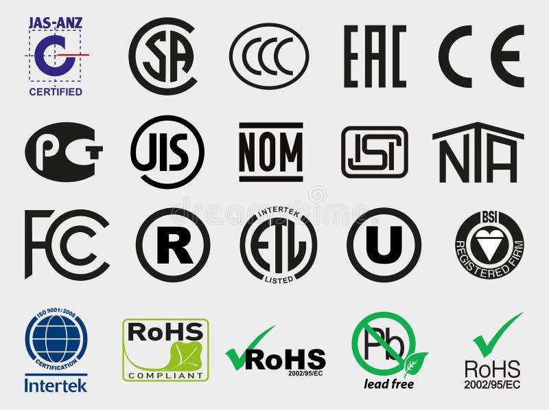 International Certification Mark Editorial Image - Illustration of ...