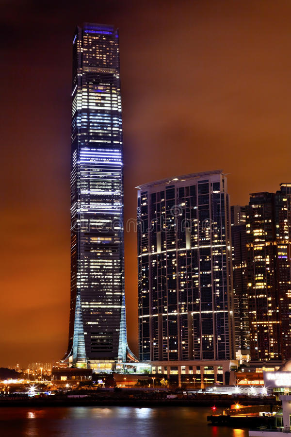International Commerce Center Kowloon Hong Kong Stock Photography