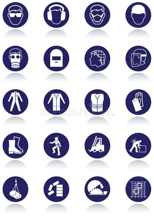 Free International Communication Signs For Workplaces. Royalty Free Stock Image - 21313326