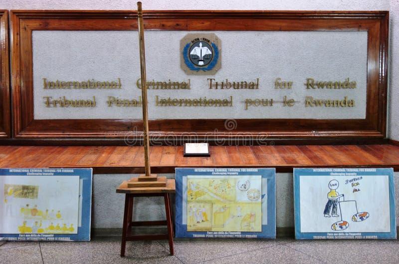 The International Criminal Tribunal for Rwanda royalty free stock photos