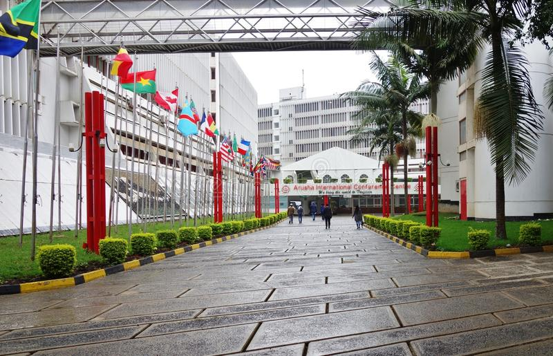 The International Criminal Tribunal for Rwanda royalty free stock photography