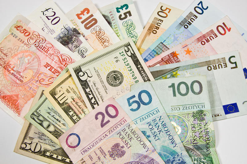 Download International currencies stock image. Image of euro, currencies - 28438455