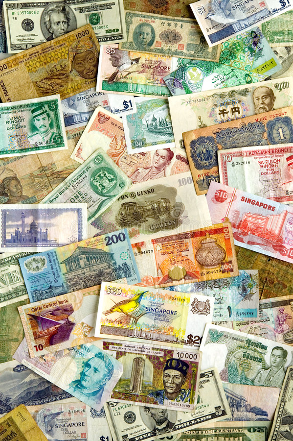 Download International Currencies stock photo. Image of different - 3935710