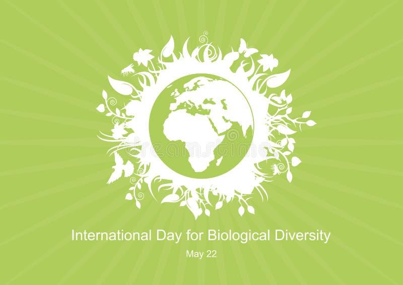 International Day for Biological Diversity vector vector illustration