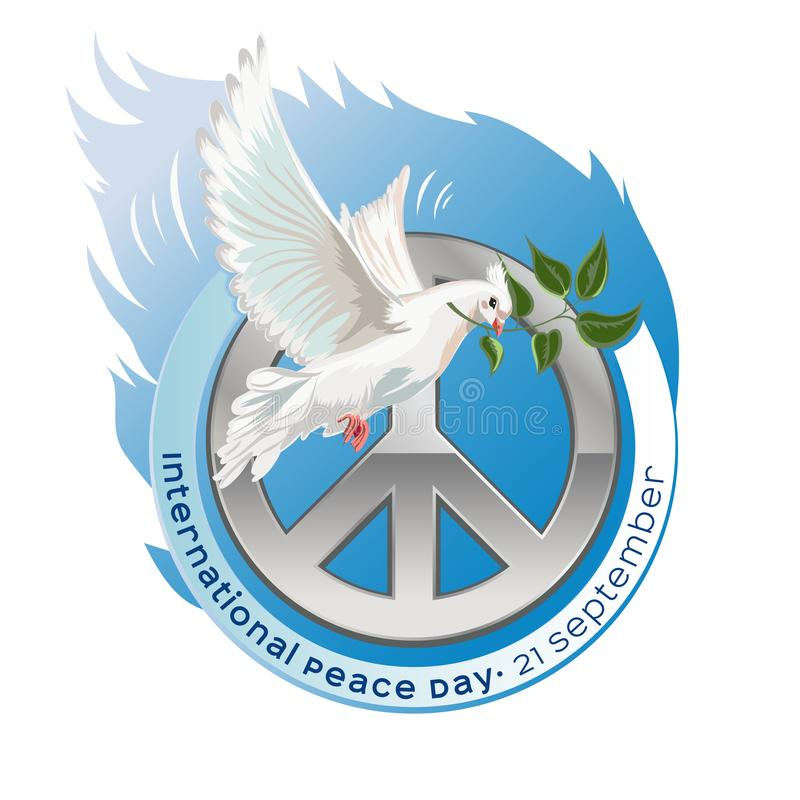 International Day of Peace vector illustration vector illustration