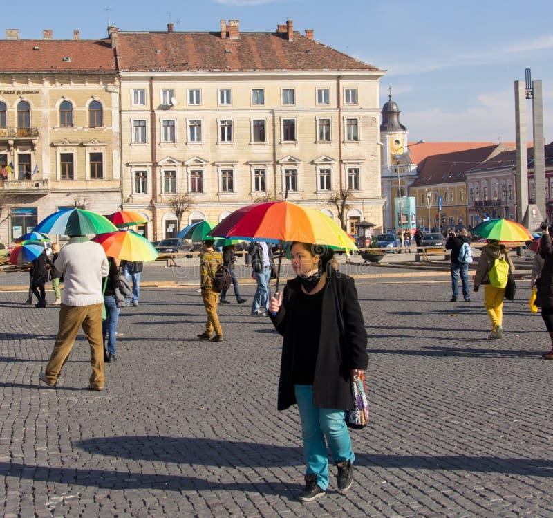 International Day of Tolerance Rainbow Flashmob