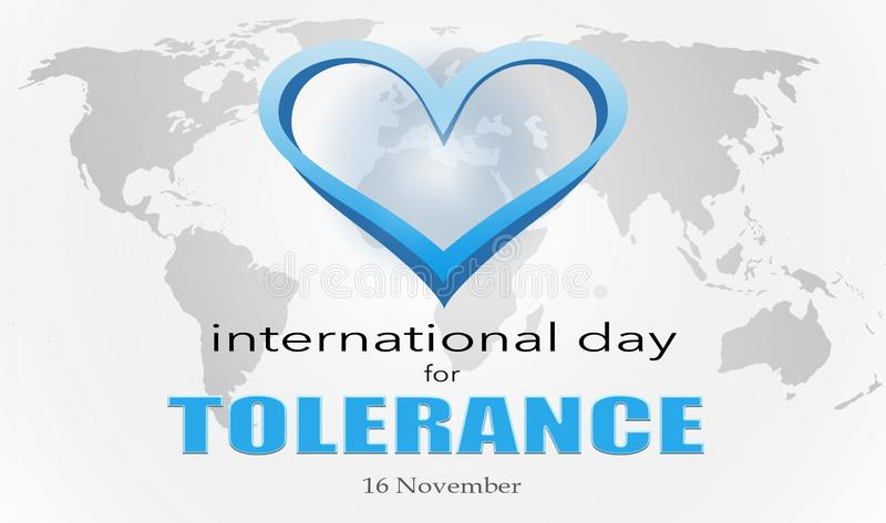 The International Day for Tolerance royalty free stock photography