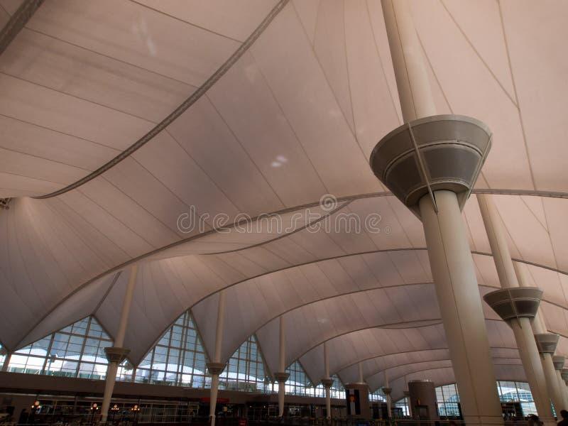 international denver авиапорта стоковое изображение rf