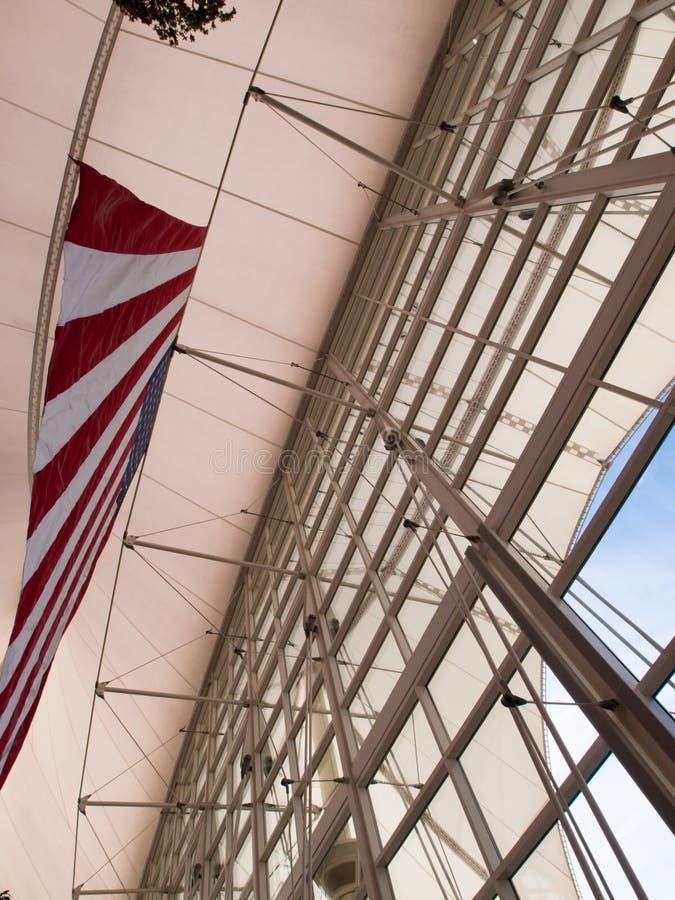 international denver авиапорта стоковое изображение