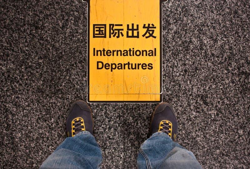 Download International departures stock image. Image of airline - 14787895