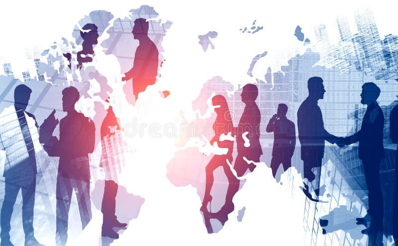 International diverse business team collaboration stock photos