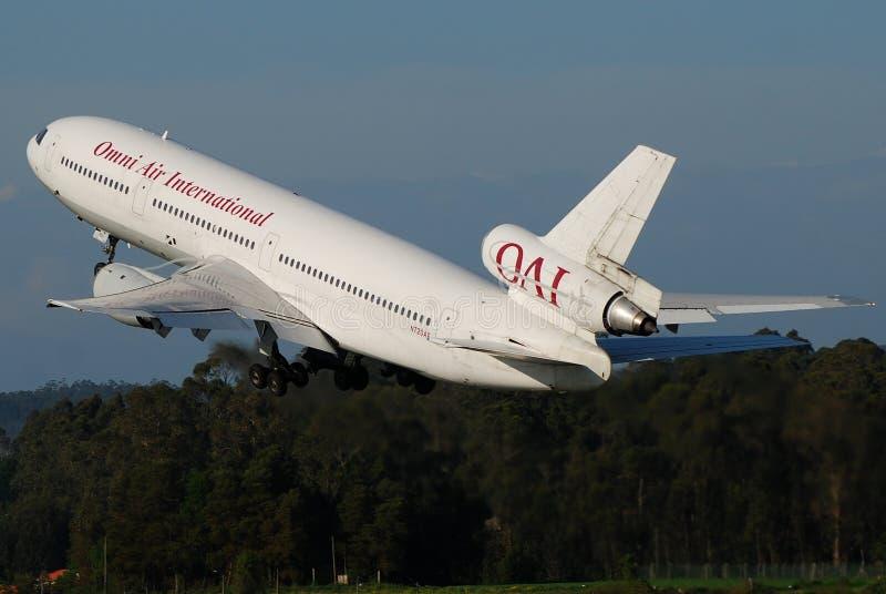 International do ar de Omni imagens de stock royalty free