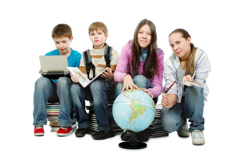 International education stock images