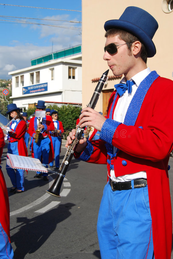 International Festival of Music Bands stock images