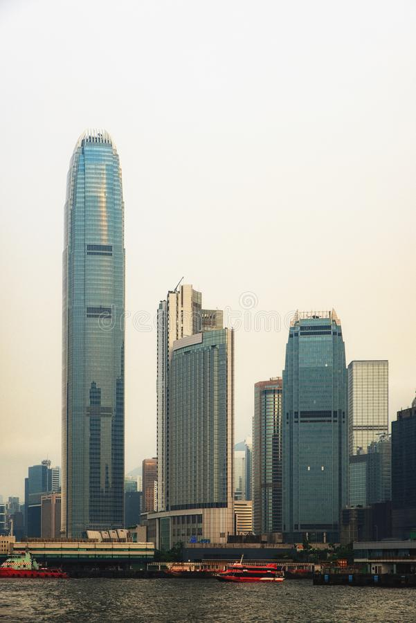 International Finance Centre Hong Kong stock images