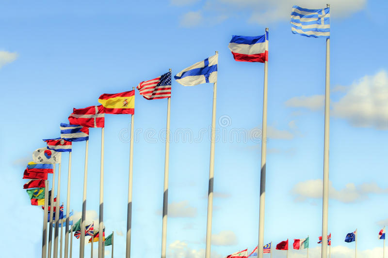 Download International Flags. Stock Photography - Image: 10962682
