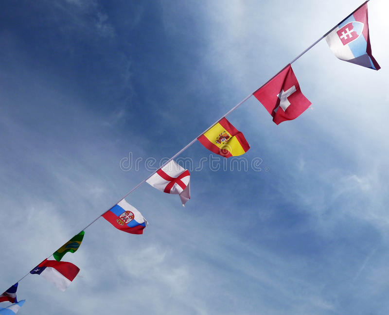 Download International Flags stock image. Image of concept, colour - 15346931