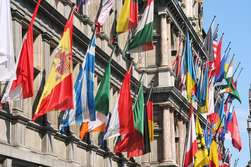 Download International Flags Royalty Free Stock Photos - Image: 16653948
