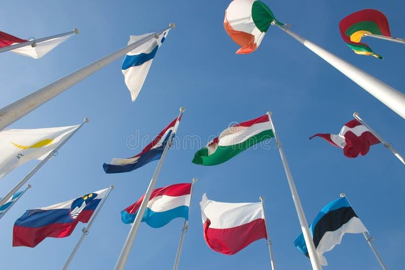 Download International flags stock image. Image of ensign, emblem - 18981