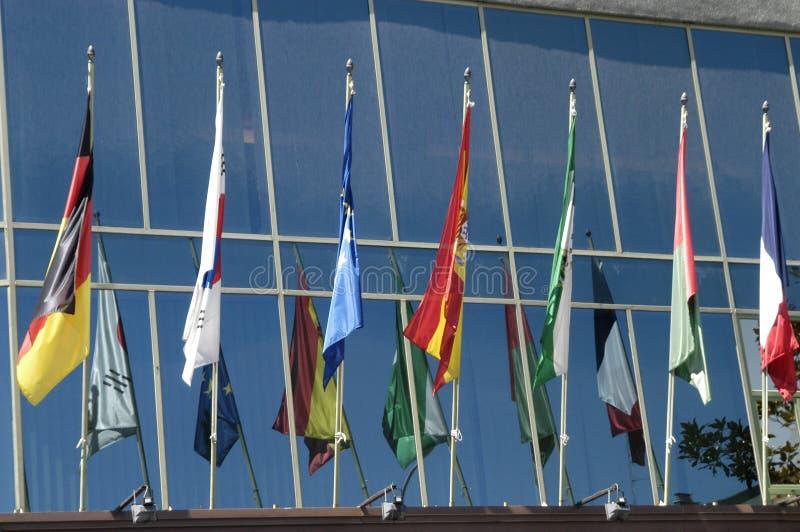 Download International flags stock photo. Image of international - 21564020