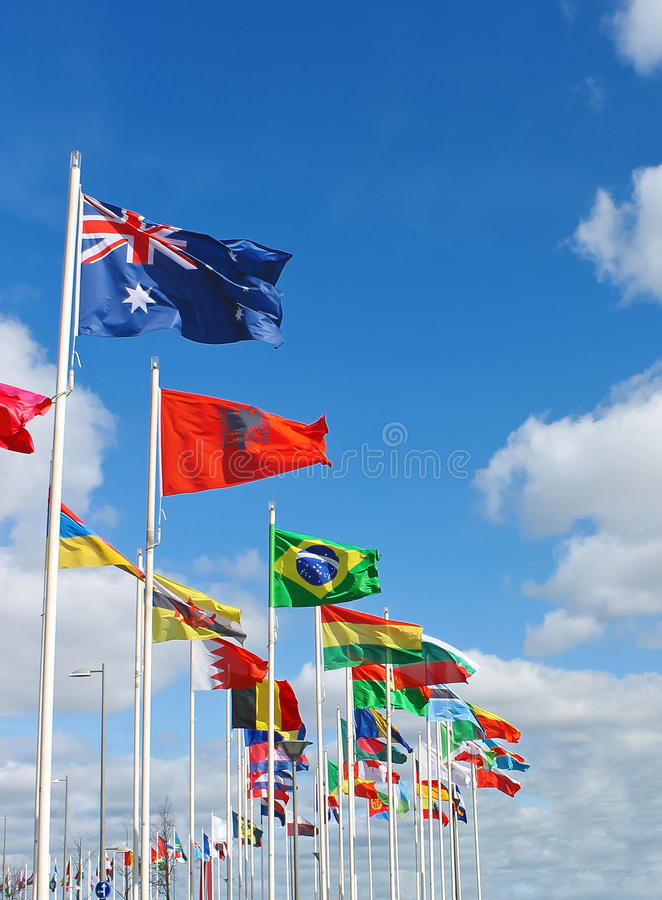 Download International Flags Royalty Free Stock Image - Image: 25866186
