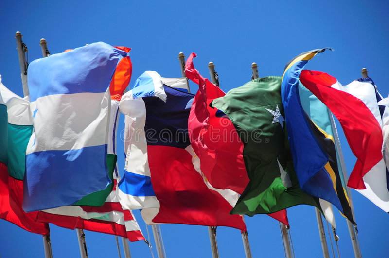 Download International flags stock image. Image of nation, colorful - 5647707
