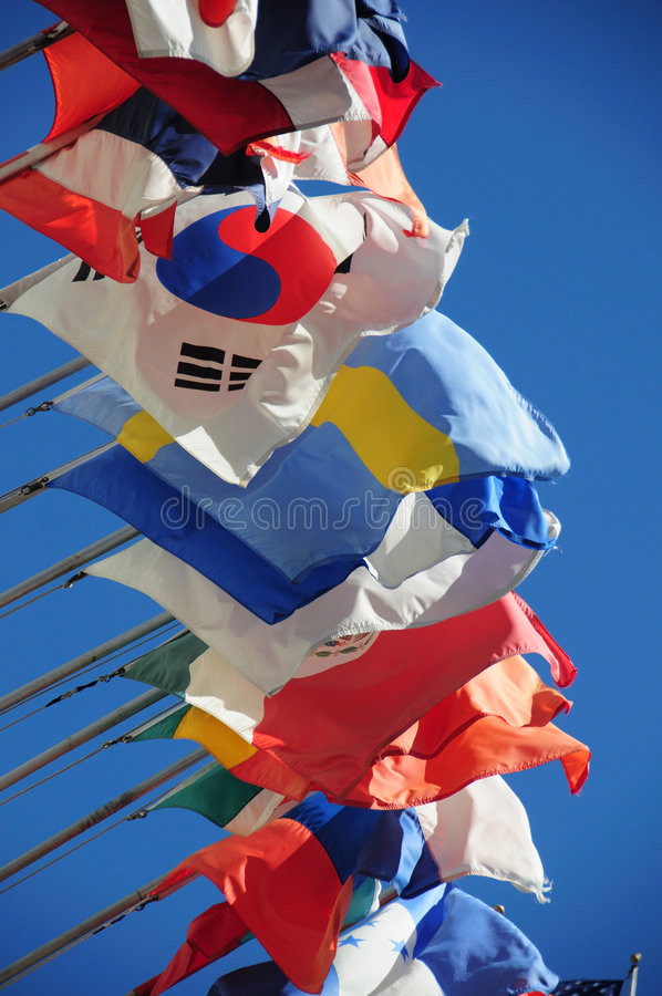 Download International flags stock photo. Image of south, travel - 5647762