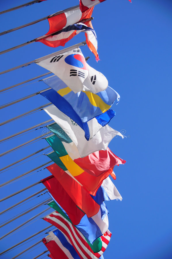 Download International flags stock photo. Image of international - 5647786