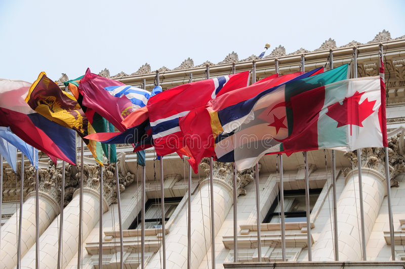 Download International flags stock photo. Image of canadian, diplomacy - 5647802