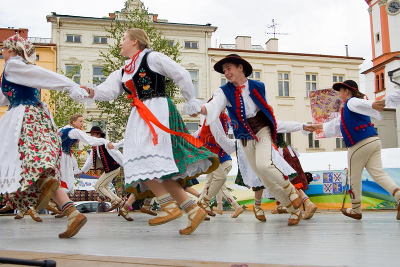International folklore festival CIOFF 2014 stock photography