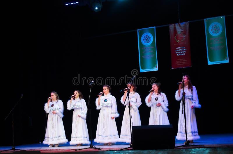 International Forum of folk music and folklore royalty free stock photo
