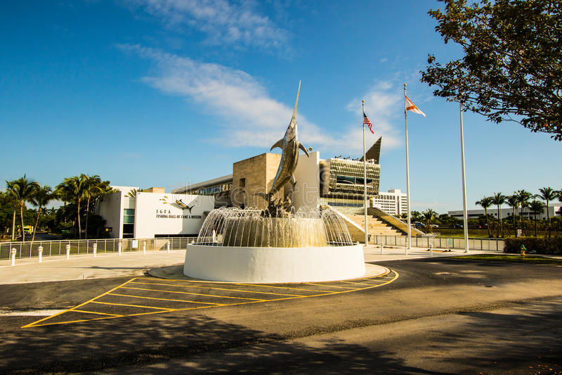 International Game Fishing Association building in Florida stock image