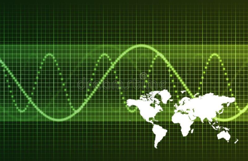International Global Business vector illustration