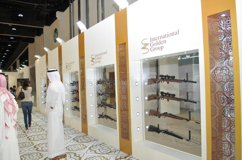 Download International Golden Group At Abu Dhabi International Hunting And Equestrian Exhibition 2013 Editorial Stock Image - Image: 33502779