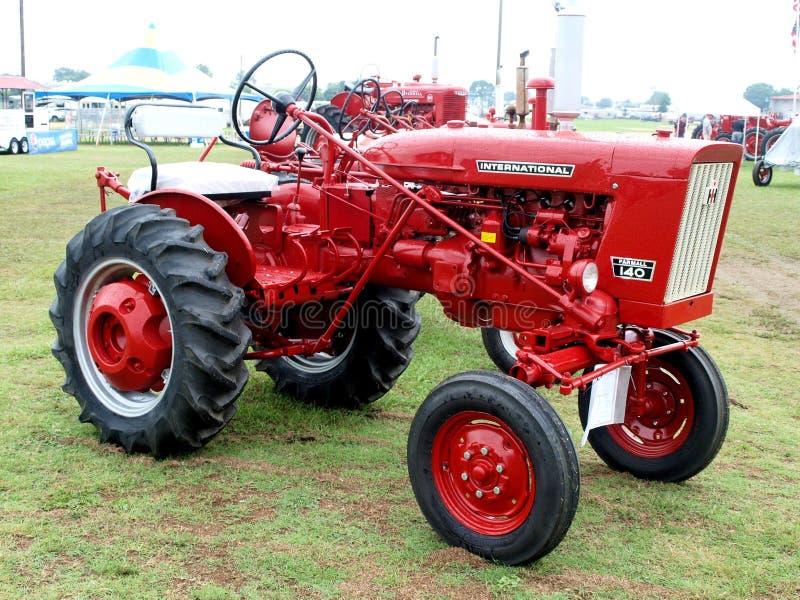 International Harvester Farmall Tractor. Antique tractor built by International Harvester. This is Farmall Model 140 royalty free stock photo