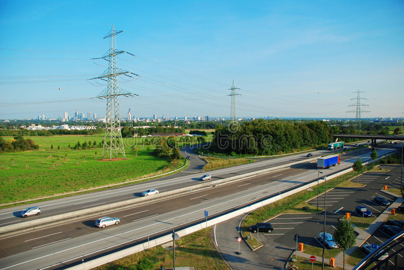 International Highway Royalty Free Stock Images