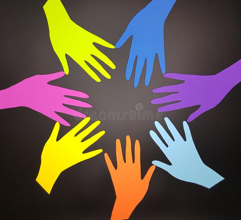 Social diversity concept royalty free stock photo