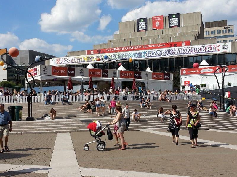 International Jazz Festival de Montreal imágenes de archivo libres de regalías