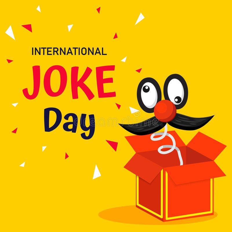 Free International Joke Day Vector Background Or Graphic Banner Royalty Free Stock Photos - 151682248