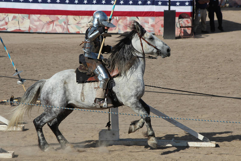 International Jousting Competition. The annual Longs Peak Scottish Irish Highlands Festival is a popular event in Estes Park, Colorado, USA. It attracts royalty free stock photography