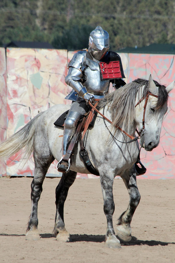 International Jousting Competition. The annual Longs Peak Scottish Irish Highlands Festival is a popular event in Estes Park, Colorado, USA. It attracts royalty free stock image