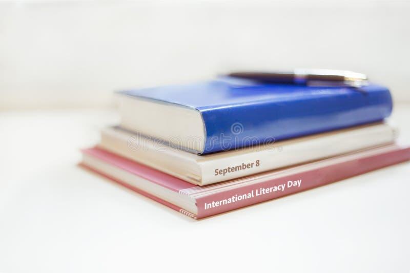 International Literacy Day. September 8 royalty free stock photo
