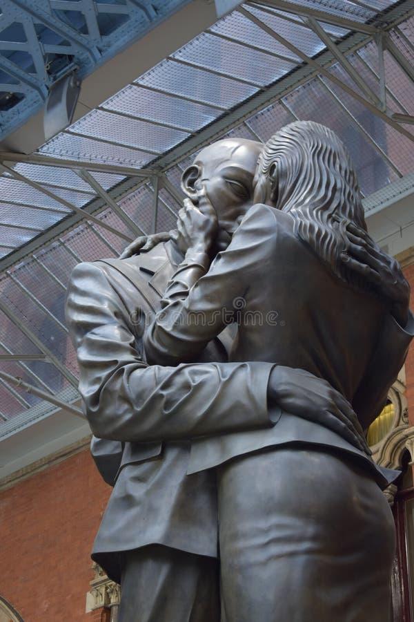 01/05/2018 international Londres de St Pancras fotografía de archivo libre de regalías