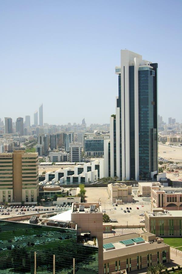International Petroleum Investment Company HQ在阿布扎比,阿联酋 免版税库存图片