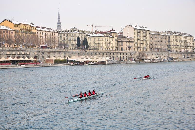 International Rowing Regatta In Turin Editorial Photo