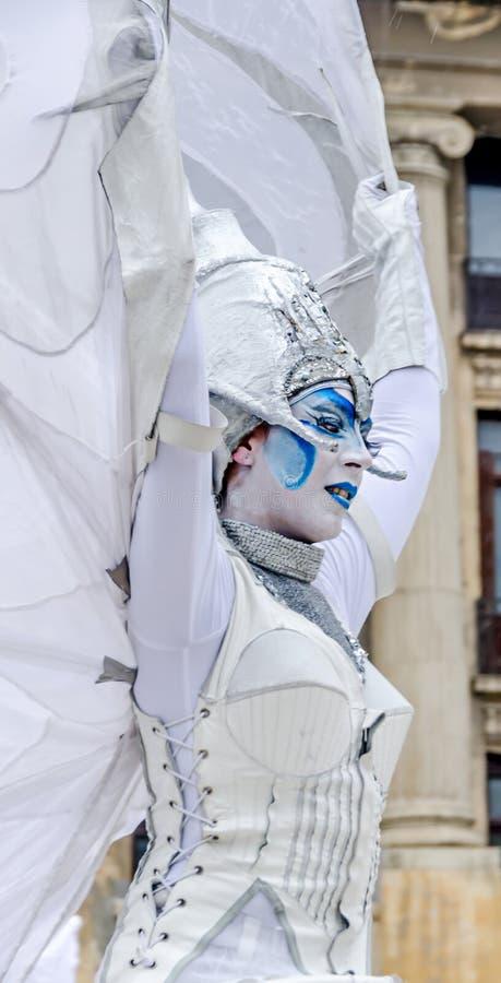 International Street Theatre Company royalty free stock image