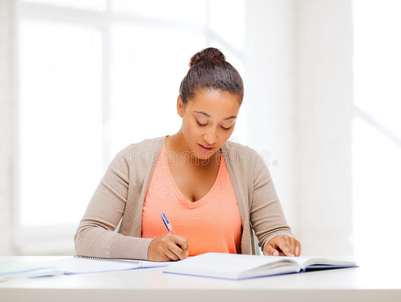 Download International Student Studying In College Stock Photo - Image: 34951322