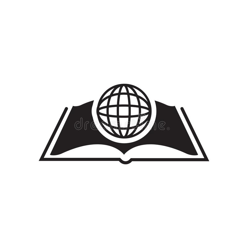 International Studies icon vector sign and symbol isolated on white background, International Studies logo concept stock illustration