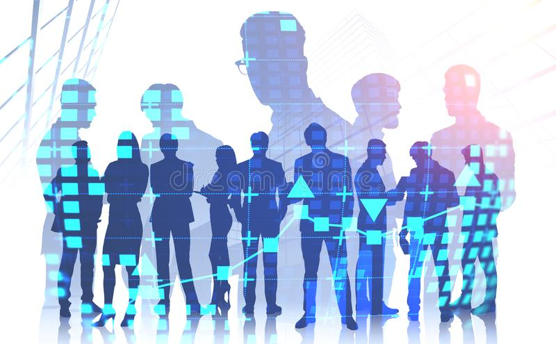 International team of business people royalty free stock photo