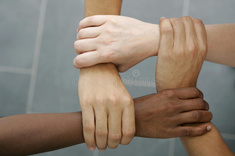 International Teamwork royalty free stock photos